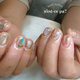 手のトラブルが多い美容師さん  手を綺麗に見せてくれて、でも派手過ぎないネイルをご希望でした  フットは同じテイストでも華やかに😊  ご予約、お問い合わせはLINE🆔→nsp0521  ネイルブックからもご予約頂けます。プロフィールのホームページをご覧下さい😊  #nail #nails #naildesign #nailsalon #jelnail #japan #instanail #fashion #nailart #springnails #summernails #ネイル #ネイリスト #ネイルデザイン #ネイルサロン #ジェルネイル #春ネイル #夏ネイル #ネセパネイル #さいたま市ネイルサロン #東浦和ネイルサロン #maogel導入サロン埼玉 #マオジェル導入サロン埼玉 #さいたま市ネイルスクール #セルフネイル向けスクール #夏 #海 #リゾート #ラメ #グラデーション #ビジュー #スターフィッシュ #オレンジ #ブルー #ゴールド #ジェル #お客様 #ネセパネイル salon&school #ネイルブック