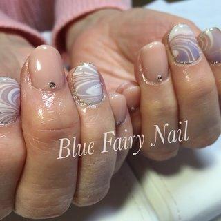 #Nailbook #BlueFairyNail 吹田 千里丘ネイルサロン #ネイルブック