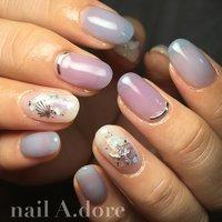 #nail #nails #nailart #instagood #nailswag #nailsalon #naildesign #nailaddict #nailstagram #instanails #ネイル #ネイルアート #手描きネイル #fashion #gelnails #浜松 #浜北 #浜北区ネイルサロン #ネイルアドーア #nail A.dore #ネイルブック