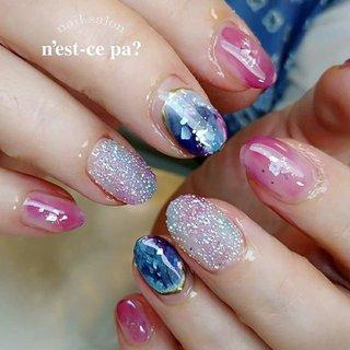 #クリスタルピクシー  やっぱりすごくかわいい(*´∇`*)💕 軽いぶどう色が、ガッツリ秋じゃなくて、またいいのです😁  ご予約、お問い合わせはLINE🆔→nsp0521  ネイルブックからもご予約頂けます。プロフィールのホームページをご覧下さい😊  #nail #nails #naildesign #nailsalon #jelnail #japan #instanail #fashion #nailart #springnails #summernails #ネイル #ネイリスト #ネイルデザイン #ネイルサロン #ジェルネイル #春ネイル #夏ネイル #ネセパネイル #さいたま市ネイルサロン #東浦和ネイルサロン #maogel導入サロン埼玉 #マオジェル導入サロン埼玉 #さいたま市ネイルスクール #セルフネイル向けスクール #夏 #秋 #ハンド #グラデーション #シェル #クリスタルピクシー #ショート #ブルー #パープル #ボルドー #ジェル #お客様 #ネセパネイル salon&school #ネイルブック