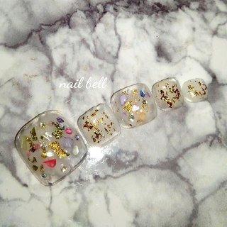 #貝殻 #さいとうりな #ネイルブック掲載店 #他店オフ無料 #相模原市田名 #相模原市 #ネイルブック #2019 #アンティーク #フットネイル #date #girl #autumn #cute #nailbook #可愛い #gelnails #naildesign #nailart #photography #beauty #nails #foot #秋 #旅行 #デート #女子会 #フット #ビジュー #シェル #ニュアンス #マリン #ホイル #ミディアム #ホワイト #ゴールド #カラフル #ジェル #さいとうりな【 nail bell ネイルベル】 #ネイルブック