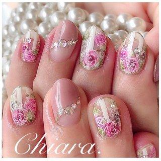 #flowernails 💍♡ 手描きrose♡design (スライド4枚目にMovie有📹💋♥︎)  #nails#nailart#japannail#cute#beauty#beautiful#rose#flower#rosenails#fashion#gelnails#nailbook#naildesign#pink#pinknails#美爪#美甲#手描きアート#手描きネイル#ストライプネイル#ボーダーネイル#フラワーネイル#お花ネイル#ガーリーネイル#ピンクネイル#ネイルブック#ネイルデザイン#ネイル#chiaranails     Instagram → yochan4.nail #春 #夏 #オールシーズン #デート #フラワー #ストライプ #ボーダー #ベージュ #ピンク #YokoShikata♡キアラ #ネイルブック