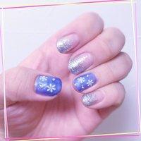 #Nailbook #冬 #ハンド #ショート #ジェル #セルフネイル #Miho Shimizu #ネイルブック