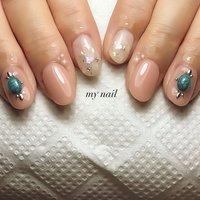 #夏 #ハンド #ニュアンス #my_nail #ネイルブック