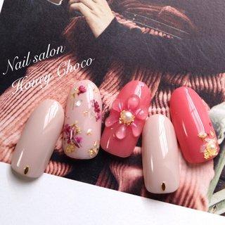 ♡新作サンプル♡ ぷっくりクリアフラワー♡ #美甲#nails#nailsart#instagood#ネイル#ジェル#ジェルネイル#gel#gelnail#manicurist#instanail#instanailstyle#fashion#nailartist#japanesenail#naildesain#jna認定講師#NailsalonHoneyChoco #ネイルサロンハニーチョコ #honeychoco #ハニーチョコ #宇治ネイルサロン #宇治ネイル #京都ネイル #京都ネイルサロン#フラワーネイル #お花ネイル#秋ネイル#秋ネイル2019#オフィスネイル#シンプルネイル#ドロップフラワー#ドロップネイル #春 #夏 #秋 #オールシーズン #ハンド #フラワー #パール #水滴 #ミディアム #ベージュ #ピンク #ボルドー #ジェル #ネイルチップ #Nail Salon&school Honey Choco #ネイルブック