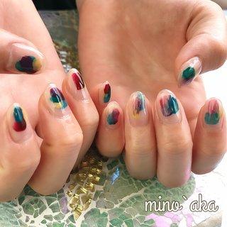 . ✩お客様ネイル✩ . ♡ 塗りかけ/five color ♡ . 推しカラー推し♡ . 左右のコントラストの違いが好き♪ . . . 【🆕special foot careのお知らせ】 . special foot careで角質除去施した後ホワホワになったfoot♪. ワントーン上がってワンカラーやアートがとても映えます✨. 詳しくはお問合せ下さい🙇♀️ . . . ✐☡ご予約はDM&LINE@:【@fyh3289a】よりご連絡ください( ¨̮ )   #nail #ネイル #nailarts #gelnails #nailart #n_mino_aka #プライベートネイルサロン #松原 #経堂 #下高井戸 #世田谷線 #世田谷線ネイル #ミノッアカnon #nuancenail #ニュアンスネイル #個性派ネイル #ニュアンス #ジェルネイル #ショートネイル #左右非対称ネイル #奥行きアート #オフィスネイル #ミラーネイル #ハンド #女子会 #クリア #シンプルネイル #お客様 #オールシーズン #デート #ショート #大人ネイル #シンプル #秋 #オフィス #ジェル #ぬりかけネイル #塗りかけネイル #嵐 #arashi #ジャニーズネイル #秋 #オールシーズン #ライブ #デート #ハンド #シンプル #ジオメトリック #チーク #ニュアンス #ショート #グリーン #パープル #ボルドー #ジェル #お客様 #non✱ミノッアカ #ネイルブック
