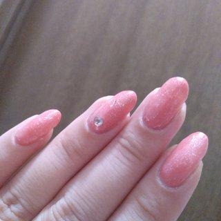 ワンカラー ピンク #シンプル #ワンカラー #ピンク #セルフネイル #maapi #ネイルブック