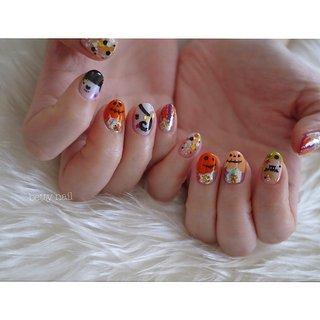 #ハロウィンネイル #betty nail #ネイルブック