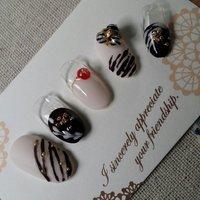 #バレンタイン #ジェル #nail garden... #ネイルブック