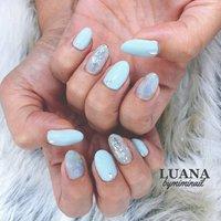 #LUANA by mimi nail #ネイルブック