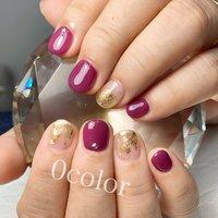 #Nail Salon 0color🍀 #ネイルブック