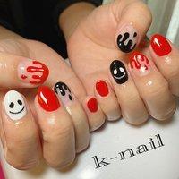 #ハロウィンネイル #k.k.k.nail #ネイルブック