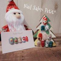 クリスマスネイルサンプル🎄 #冬 #クリスマス #NailsalonPetit* #ネイルブック