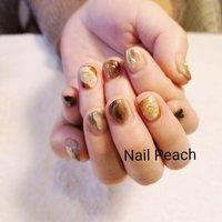 #ニュアンスネイル #Nail Peach #ネイルブック