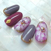Instagram→coccolo_nail #coccolo_nail #ネイルブック