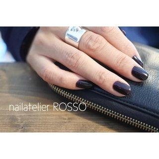 ・ ・ purple ・ ショートネイルは濃い色が素敵に映えます ・  nailatelier ROSSO ☎︎0568-39-6134 愛知県西春日井郡豊山町 ・ ご予約はお電話・メール トップページのHP RESERVEよりご予約頂けます ・ #nailatelier_rosso #nails #gelnail #naildesign #nailart #美甲 #指甲 #ネイルアトリエロッソ #ジェルネイル #ネイルデザイン #豊山町ネイルサロン #西春日井郡豊山町 #豊山町 #名古屋市北区ネイルサロン #名古屋市西区ネイルサロン #春日井ネイルサロン #小牧ネイルサロン #北名古屋市ネイル #フィルイン #フィルイン一層残し #セルフネイルレッスン名古屋 #セルフネイルレッスン #フィルインレッスン #モードネイル #ショートネイル #ワンカラーネイル #パープルネイル #ボルドーネイル #冬ネイル #秋 #冬 #オールシーズン #ハンド #ワンカラー #ショート #パープル #ブラック #ジェル #お客様 #nailatelierROSSO #ネイルブック