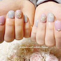 #雪の結晶 #冬ネイル #キキララ #冬 #nail salon Anmut #ネイルブック