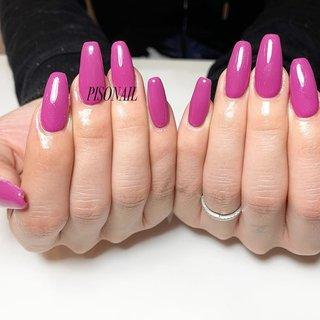、 紫のようなピンクのような すんごい良い色のワンカラー💜💗💜💗 、 スカルプのロングってのも 可愛いポイント☝🏻✨ 、 、 、 PISONAIL(ピソネイル) Tel: 080-4242-3118 Massage: info@pisonail.com LINE: cli5863b 、 #ネイル #ネイリスト #ネイルデザイン #ネイルアート #ジェルネイル #姫路個人サロン #姫路 #姫路ネイル #姫路自宅サロン #姫路ネイルサロン #nail #nailartist #nailart #naildesign #nails #自宅ネイル #スカルプネイル #スカルプ #派手ネイル #シンプルネイル #ビジューネイル #nailstagram #しぇあねいる #PISONAIL #フットネイル #ワンカラーネイル #ピンクネイル #パープルネイル #ロングネイル #オールシーズン #成人式 #バレンタイン #ハンド #シンプル #ワンカラー #スーパーロング #ピンク #パープル #スカルプチュア #お客様 #rp5xxx #ネイルブック
