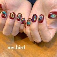 おまかせクリスマスネイル。 あっという間に年末ですね。ლ(╹◡╹ლ) * プライベートネイルアトリエ 【 my-bird 】 美術学校出身ネイリスト お爪をキャンバスに楽しいお絵描き ご一緒に楽しみませんか? * 大森駅 徒歩8分 ご予約はネイルブックより https://nailbook.jp/nail-salon/19639/ 00.my.bird.00@gmail.com 東京都大田区山王3-4-2 08032540342 (施術中お電話に出られない場合がございますご要件は留守番電話にお願い致します) #mybird  #nails #ネイル #paragel  #paragel登録サロン  #大森  #山王  #自爪を削らないジェル  #フィルイン #mybird #ネイルブック