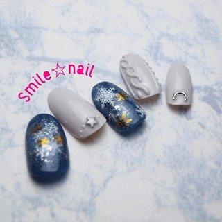 大田原定額ネイルサロン Smile☆nailのyukariです(*^^*) 1月のセレクトコースデザイン出来ました🤗  ライトグレーのニットネイルに、星空みたいな雪の結晶ネイルを合わせました💡 アイニティジェルで作るニットネイルは凸凹感がしっかり🧶✨ 沢山のオーダーお待ちしております❤️ ☆,。・:*:・゚'☆,。・:*:・゚'☆,。・:*:・゚' HPはプロフィールのURLから☆ ご予約は#ネイルブック より 是非アプリをご利用下さい❤️ ☆,。・:*:・゚'☆,。・:*:・゚'☆,。・:*:・゚' ラクマでピアス ミンネでネイルチップを販売してます ٩( ᐛ )و  ネイルチップ→ミンネ https://minne.com/5116ykr (スマイルネイルで検索‼︎) ピアス→ラクマ https://fril.jp/shop/Smile_bijou (スマイルビジュー ネイリストで検索‼︎) ☆,。・:*:・゚'☆,。・:*:・゚'☆,。・:*:・゚' #smilenail #スマイルネイル #大田原市ネイルサロン #大田原市ネイル #大田原ネイルサロン #大田原ネイル #大田原定額ネイル #那須塩原ネイル #那須塩原ネイルサロン #ネイルサロン #西那須野ネイルサロン #お洒落ネイル #個性派ネイル #派手カワネイル #オーダーチップ #nailpicbeaut #美爪 #ミンネ #minne #nailbook #ネイリスト仲間募集 #ネイル好きな人と繋がりたい #ニットネイル #冬ネイル #1月ネイル #雪の結晶ネイル #冬 #クリスマス #デート #女子会 #ハンド #ニット #雪の結晶 #ミディアム #ネイビー #グレー #ジェル #ネイルチップ #Smile☆nail #ネイルブック
