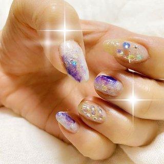 雪の結晶❄️ネイル。 * * * #グラデーションネイル #雪の結晶ネイル #冬ネイル #スノーネイル #マーブルネイル#nails #polish #selfnail #nailpolish #nailseal #nailsInstagram #ネイル #セルフネイル #マニキュア #ポリッシュ  #ネイルポリッシュ #セルフネイル部  #esnail#nail#nails#nailart #snownail #esnails#nailgram #nailsalon#notd #beverlyhills #westhollywood #冬 #クリスマス #パーティー #ハンド #ホログラム #マーブル #水色 #パープル #シルバー #マニキュア #セルフネイル #ちゃめ #ネイルブック