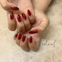 brown×red🙌 . クリアレッドとクリアブラウンで深い赤を意識したむら塗りデザイン💋 ワンカラーでベタ塗りするのもいいですが、むら塗りにすることで奥行きと深みを感じることができます🤟 メタリックゴールドで囲んだのも可愛いっ🙆♀️♡ 色こそ派手ですが飽きのこないデザインですよっ💐 相変わらずの美爪様♡ありがとうございました💋 . ご予約は... プロフィールのURL 「NAIL BOOKネイルブック」から簡単ネット予約できます🌿 #idealnail #ideal #ohalnail #鈴鹿市ネイルサロン #鈴鹿ネイル #鈴鹿市ネイル #津ネイル #四日市ネイル #亀山ネイル #三重ネイル #三重ネイルサロン #鈴鹿美容室 #鈴鹿美容院 #nail #nails #nailart #nailstagram #instanails #nailpic #nailpics #ニュアンスネイル #ニュアンスネイルデザイン #むら塗りネイル #赤ネイル #囲みネイル #いい女ネイル #おしゃれさんネイル #おしゃれな人の爪 #美爪様 #冬 #お正月 #成人式 #旅行 #ハンド #ニュアンス #ミディアム #レッド #ゴールド #ジェル #お客様 #ideal_OHAL #ネイルブック