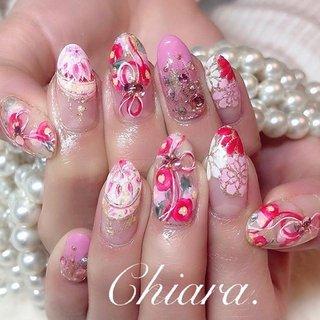 *    #お正月ネイル 🎍💍♡ (スライド5枚目にMovie有📹💋♥︎)    手描きの #鞠 は 絶対!入れたいな ♪ ♡ ✨ がご希望の  ピンクがとーーっっても似合うお客様の お正月designです ♡♡♡    いつも、 京都から 楽しい ♪ 時間をありがとう ♪ ☺︎💋♥︎         #nails#nailart#japannail#beauty#beautiful#cute#japanese#pink#pinknails#fashion#gelnails#nailbook#naildesign#美甲#美爪#お正月ネイル#ピンクネイル#ピンク#和柄ネイル#成人式ネイル#鞠ネイル#手描きアート#手描きネイル#お花ネイル#リボンネイル#ネイルブック#ネイルデザイン#ネイル#chiaranails         Instagram → yochan4.nail #冬 #オールシーズン #お正月 #成人式 #フラワー #リボン #ピンク #YokoShikata♡キアラ #ネイルブック