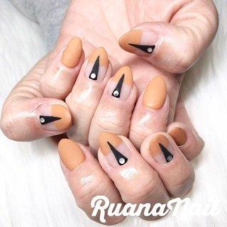 キャメルにマットの個性派ネイル😄 ※持ち込み画像参考です💅 #nail#nails#nailart#NAIL#galnail#winternails#nail#nailstagram#2019#autumnails#プライベートネイルサロン#自宅サロン#キッズスペースあり#ママネイリスト#個性派ネイル#マットネイル#冬ネイル#トレンドネイル#ネイルサロン#ネイルデザイン#太子町ネイル#南河内 #南河内ネイルサロン #富田林ネイル#太子町#河南町#富田林#羽曳野#藤井寺市 #秋 #冬 #オールシーズン #お正月 #ハンド #シンプル #フレンチ #ジオメトリック #マット #ミディアム #オレンジ #ジェル #ruananail ルアナネイル #ネイルブック
