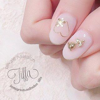 #yuko♡by nailsalon tiffa #ネイルブック
