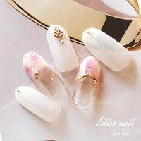 #sample #ハンド #ジェル #Bliss☆Sachi #ネイルブック