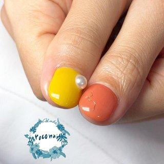 【親指も可愛い♪】  カボチャネイルの親指バージョン♪  つるん♪ぷるん♪ として美味しそう!  ワイヤーやパールで ワンカラーも ワンランク上に♪  🌺フォローミー🌺 @roconail.hiroco  ------------------------ ネイルスパサロン〜roconail〜  手先、足先から健康的にキレイを作る!✨ 健康的な爪、手肌作りのお手伝いをしていきたい!✨  爪をジェルネイルで飾るだけではなく 自分の爪そのものを元から美しくすること。  『飾り立てる』場所ではなく 『健康的な美を育てる』場所でありたい。  『健康美』を叶えながら うっとりするネイルデザインを楽しむ!✨  そんなネイルサロンを目指しています。 ------------------------  お問合せはLINE公式アカウントへ 『@221xwvxr』 @を入れてLINEで検索してください♪  長押しするとコメント欄に飛んで コピーしやすいです♪  #ネイルサロン #自宅サロン #船橋ネイルサロン #ネイルスパ #ネイルスパサロン #船橋市ネイルサロン #飯山満 #芝山 #北習志野 #東海神 #船橋 #飯山満駅 #roconail #ロコネイル #ネイル #ネイルアート #ネイルデザイン #ネイルアーティスト   #ワンカラーネイル #パールネイル #ワイヤーネイル #秋ネイル #オータムネイル #オレンジネイル #イエローネイル #オールシーズン #旅行 #デート #女子会 #ハンド #ワンカラー #ワイヤー #ショート #オレンジ #イエロー #ジェル #お客様 #roconail #ネイルブック