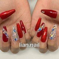 #ハンド #レッド #お客様 #lian.nail〜リアンネイル〜 #ネイルブック