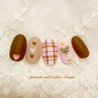 #冬 #バレンタイン # #nail salon Anmut #ネイルブック