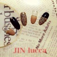#Nailbook #ツイード #JINlucca #ネイルブック