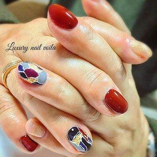 ". . ""Nuance blocking"" . . ただただオシャレです‼️ . . #makihorita  #luxurynailvoila  #nailsalon  #koiwa #privatenailsalon  #fashionnail  #newnails  #instacool  #instamnails  #jelnail  #japannails  #tokyonails  #ラグジュアリーネイルヴォアラ #小岩ネイル  #小岩ネイルサロン #ファッションネイル #オシャレネイル #ブロッキングネイル  #ニュアンスネイル  #ネイル  #ネイルデザイン  #ショートネイル #ボルドーネイル  #美甲 #美甲設計  #美甲彩繪  #네일  #네일아트 #젤네일 #指彩 #Nailist maki #ネイルブック"