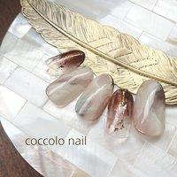 #ニュアンスネイル#天然石ネイル #coccolo_nail #ネイルブック