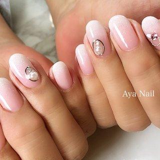 Simple is the best ❤️ ・ ・ ーーーーーーーーーーーーーーーーーーーー Private nail salon&school Aya Nail【アヤネイル】 ▶︎@mirage.missmirage◀︎ ▶︎キュアモノマーマスターエデュケーター◀︎ ・ ・  ご予約、セミナーご依頼は 👉LINE【@lrh8595h】 👉 ☎️05034798058 👉ホームページ http://ayamamanail.jimdo.com/ ・ ・  #AyaNail #アヤネイル #ネイル #nail #美容 #ジェルネイル #젤레일 #セルフジェルネイルスクール#キュアモノマーエデュケーター #結城市ネイル #八千代ネイルサロン #スカルプ #キュアモノマー #Curemonomer #acrylicnails #youtube #あやちゃんネイルtv #グラデーションネイル #フットネイル #冬ネイル #白グラデーションネイル #オールシーズン #入学式 #オフィス #ブライダル #ハンド #シンプル #グラデーション #ラメ #ワンカラー #ショート #ホワイト #クリア #ベージュ #ジェル #お客様 #Aya Nail (アヤネイル) #ネイルブック