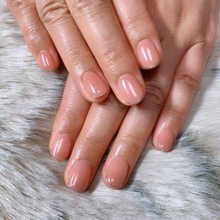 #先端ラメ #ピンク #透け感ネイル #ちゅるん #Nail Salon MAHALO #ネイルブック