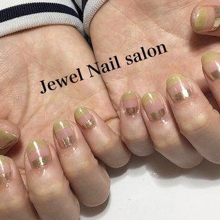 #オールシーズン #ハンド #アンティーク #ミディアム #ピンク #アースカラー #スモーキー #ジェル #お客様 #jewel nail salon #ネイルブック