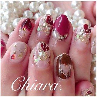 *    #Valentinenails 💍♡ (スライド3枚目にMovie有📹💋♥︎)    Chiara.♡ では  毎年人気なdesignです ♡✨ #chiaranailsデザイン        いつも ありがとう ♪ ☺︎💋♥︎    #nails#nailart#cute#beauty#beautiful#heartnails#nailbook#gelnails#fashion#naildesign#美甲#美爪#バレンタインネイル#秋ネイル#冬ネイル#ハートネイル#プッチネイル#ハートプッチ#ボルドーネイル#赤ネイル#ピンクネイル#手描きアート#手描きネイル#パールネイル#ネイルブック#ネイルデザイン#ネイル#chiaranails        Instagram → yochan4.nail #秋 #冬 #オールシーズン #バレンタイン #ビジュー #パール #ハート #くりぬき #プッチ #ボルドー #ブラウン #ゴールド #YokoShikata♡キアラ #ネイルブック