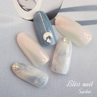 #サンプルチップ #ハンド #ジェル #Bliss☆Sachi #ネイルブック