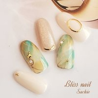 #サンプルチップ #ジェル #Bliss☆Sachi #ネイルブック