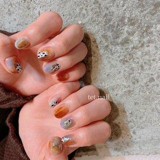 #春 #夏 #秋 #冬 #ニュアンス #tet.nail #ネイルブック