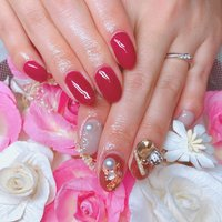 #nail&eyelash chouchourouge #ネイルブック