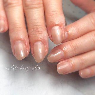 #グラデーションネイル#くすみカラー#シンプルネイル #nail & beauty éclat❥ #ネイルブック