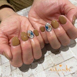 𓆸 . . 𓊿⌇argyle 𓂅 ❥ selection design . . .  nails by Rina 𓍢𓏲 ﹉﹉﹉﹉﹉﹉﹉﹉﹉﹉﹉﹉﹉﹉ free design ¥9000 +tax ( 90分アート パーツのせ放題 ) selection design ¥6500 +tax ( 50種類の決まったアートから選択 ) ﹉﹉﹉﹉﹉﹉﹉﹉﹉﹉﹉﹉﹉﹉ ご予約はDM . LINEからもお気軽にどうぞ ✉︎ ❤︎ nail salon rilante ☎︎0766-53-5758 LINE : @vzk7732x 高岡市佐野1169 open平日9:30-19:00(L.O) 土日祝9:00-18:00(L.O) close 月曜.第3日曜日 . #nail #nails #nailart #naildesign #nailist #art #instanails #fashion #네일 #美甲 #ネイル #ネイルアート #ネイルデザイン #ジェル #ジェルネイル #お洒落さんと繋がりたい #ファッション #高岡ネイルサロン #高岡ネイル #富山ネイルサロン #富山美容室 #高岡市美容室 #ネイルデザイン #トレンドネイル #冬ネイル #オフィスネイル #ニュアンスネイル #個性派ネイル #ちぐはぐネイル #アーガイルネイル #キャメルネイル #冬 #アーガイル #ベージュ #ブルー #グレー #ジェル #お客様 #nail salon rilante #ネイルブック