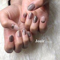 #ハンド #ラメ #ミラー #Jouir for beauty - hair nail eyelash- #ネイルブック