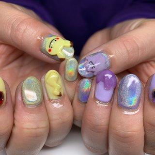 . 今回はTHE☆ポケモン!! ユニコーンとにピカチュウとメタモンの3Dで ゆる〜い可愛いかんじになりました😍💓 またキャラネイルお待ちしてます😎❤︎ . . . キャラクター3Dなどのご相談 いつでもご連絡ください🧸💓 . 💅GOODNAILS_JURI 📱LINE ID @woe6578d . ☎️03-6427-4474 . #goodnails #shibuya #nails #nail #nailsalon #gelnail #footnail #sculpture #nailart #nailstagram #insta nail #new nail #nailist #2020ネイル #フットネイル #おまかせネイル #スカルプチュア #手描きネイル #渋谷 #渋谷サロン #渋谷ネイルサロン #ポケモンネイル #キャラネイル #3Dポケモンネイル #オールシーズン #ハンド #キャラクター #3D #ミラー #ミディアム #イエロー #パープル #ジェル #お客様 #JURI #ネイルブック