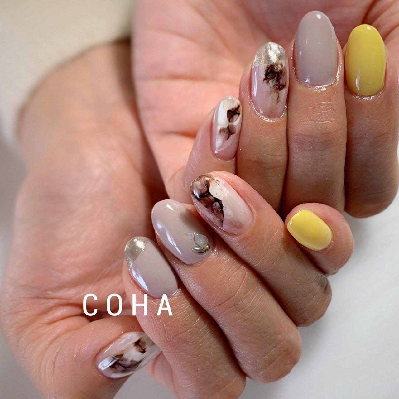 #ニュアンス #ジェル #COHA nail and art #ネイルブック