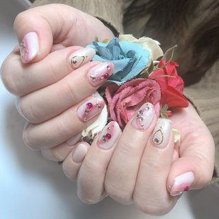 #jewelry #shimonoseki #private #myhome #drop_nail #drop #nail #下関市 #プライベート #自宅 #下関市プライベートネイルサロン #下関市自宅ネイルサロン #ドロップネイル #ドロップ #ネイル X010.N001.自C #ハンド #グラデーション #シュガー #ピンク #ゴールド #drop_nail #ネイルブック